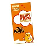 (12 PACK) - Moo Free Dairy Free Chocolate Bar - Banana | 12 X 100g | 12 PACK - SUPER SAVER - SAVE MONEY