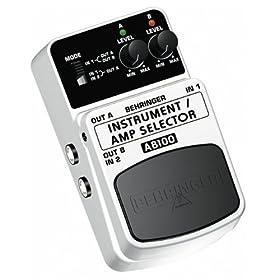 BEHRINGER INSTRUMENT/AMP SELECTOR AB100