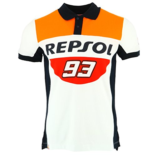 Honda Repsol Marc Marquez 93 Moto GP Panel Polo Shirt Official - Marc 111