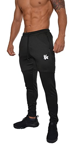 YoungLA Track Pants for Men Workout Athletic Gym Joggers Lightweight Training Sweatpants Tapered Fit 205 – DiZiSports Store