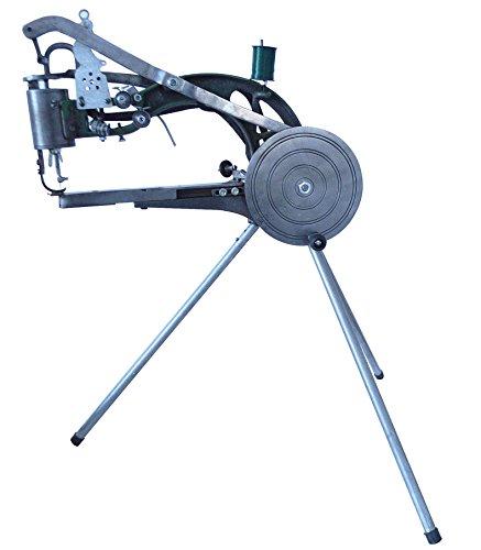 Manual Shoe Repair Machine Dual Cotton Nylon Line Sewing Machine with Tripod