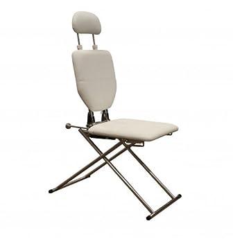 Superieur Minerva Portable Shampoo Facial Eyebrow Waxing Makeup Chair In White