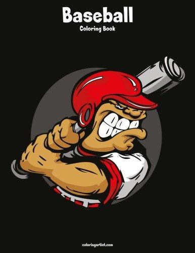 Baseball Coloring Book 1 (Volume 1)