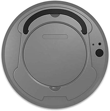 KaiKai Robot de Limpieza Mini Inteligente de Barrido de Carga USB Robot Aspirador de Limpieza del Robot, Negro (Color : Gray): Amazon.es: Hogar