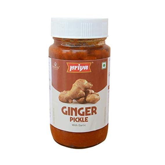 Priya Ginger Pickle with Garlic, 300g