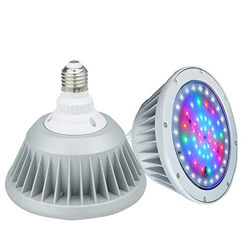 Wyzm 40watt waterproof color changing led pool light bulb - Inground swimming pool light fixture ...