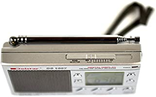 Kaito KA228 Pocket-size 9-Band AM//FM Shortwave Radio Silver