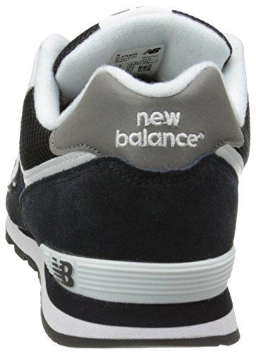 New Balance Unisex-Kinder Kl574skg-574 Hohe Sneakers Mehrfarbig (Black/White 048Black/White 048)