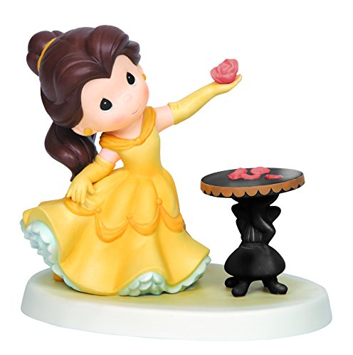 Precious Moments, Disney Showcase Collection, He Loves Me, Bisque Porcelain Figurine, 143020 ()