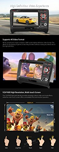 XTRONS 7 Inch Android 6.0 Octa-Core Capacitive Touch Screen Car Stereo Radio DVD Player GPS CANbus Screen Mirroring Function OBD2 Tire Pressure Monitoring for Audi TT MK2 by XTRONS (Image #4)