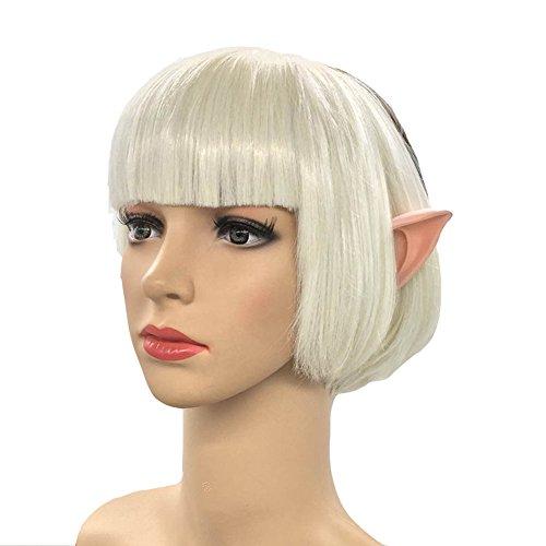 Good Halloween Costumes Short Notice (Gosedy Elf Goblin Ear Halloween Party Unisex Cosplay Vampire Knight Ears(Short Ears))