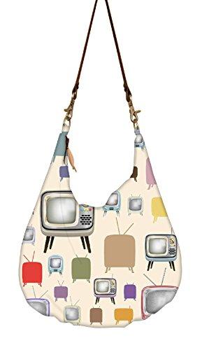 Snoogg, Borsa A Tracolla Da Donna Multicolore Multicolore L