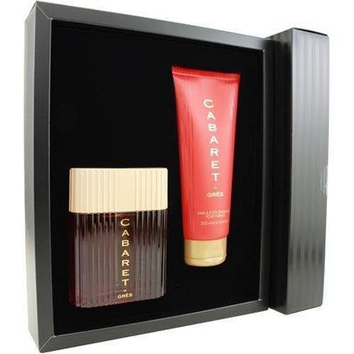 Cabaret By Parfums Gres For Men. Set-edt Spray 3.4 oz & Shower Gel 6.7 oz