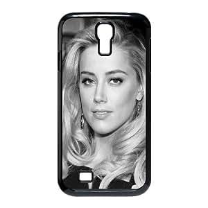 Celebrities Amber Heard Black Dress Samsung Galaxy S4 9500 Cell Phone Case Black toy pxf005_5012189