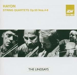 String Quartets Op.50 Nos.4-6