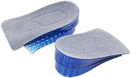 TININNA Unisex Silikon Gel Unsichtbar Erhöht Einlegesohlen Schuh Pad Erhöhende Schuheinlagen EINWEG Verpackung