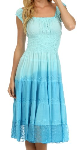 ombre spring dresses - 3