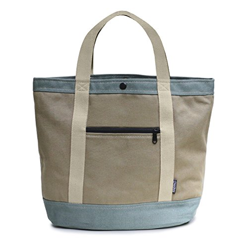 Keokee Vintage Canvas Tote Bag | with Removable Multi Compartment Organizer by Keokee