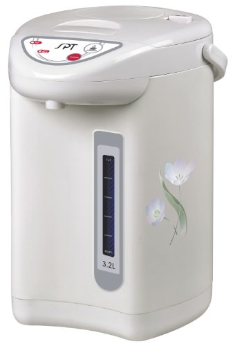 System Pump Dual (SPT SP-3201 Hot Water Dispenser with Dual-Pump System (3.2L), Off White)