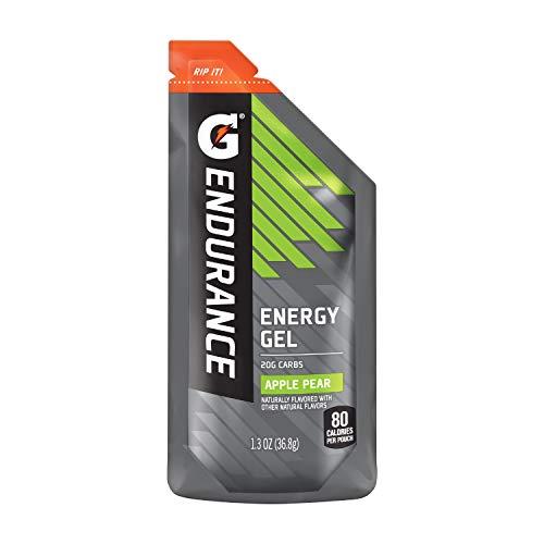 Gatorade Endurance Energy Gel, Apple Pear, 21 Pack, 1.3 oz Pouches (Best Gel Packs For Running)
