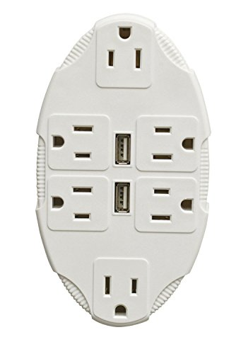 Stanley 30420 Transformer 6 Outlet Adapter