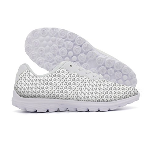 NAFG59Q Women's Casual Walking Sneakers Fashion Sneakers Fitness Shoes Soft Sole Lightweight Breathable Panda Tile Athletic Running -
