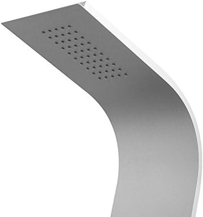 Columna de Ducha multifuncional de Aluminio con Temperatura ...