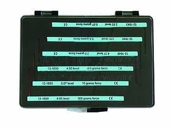 Baseline 12-1664 Tactile Monofilament, 6-piece Set (2.83, 3.61, 4.31, 4.56, 5.07, 6.65 gram)