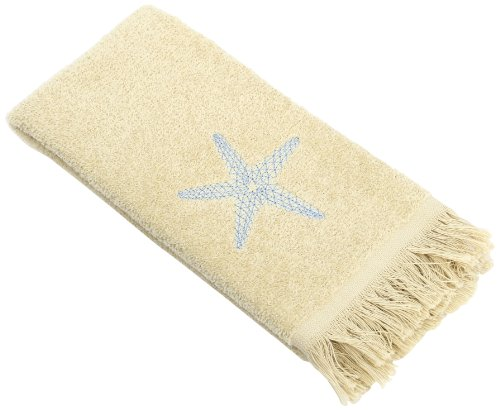 Avanti Linens By The Sea Fingertip Towel, Rattan