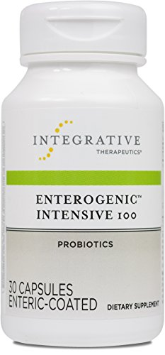 Integrative Therapeutics – Enterogenic Intensive 100 – 100 Billion CFU High-Potency Probiotic – Multiple Strains for Digestive Support – 30 Capsules