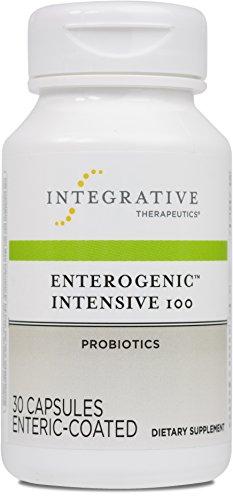 High Potency Probiotics (Integrative Therapeutics - Enterogenic Intensive 100-100 Billion CFU High-Potency Probiotic - Multiple Strains for Digestive Support - 30 Capsules)
