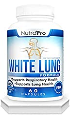 White Lung is a respiratory formula that was designed specifically to support respiratory health. White Lung has an amazing blend of superb natural ingredients Including Cordyceps, Vitamin C, Butterbur, Bromelain, Feverfew, Pine Bark, Quercet...