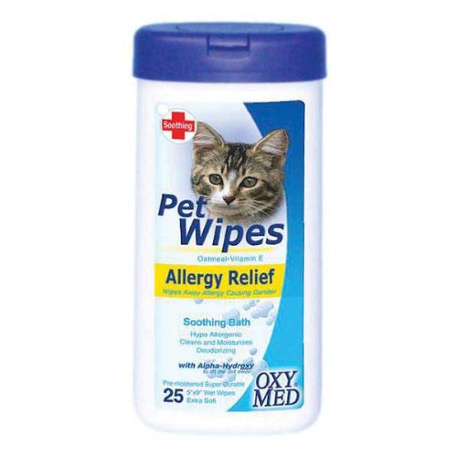 Tropiclean Allergy Relief Pet Wipes, 25 Count Cosmos Corporation ARW