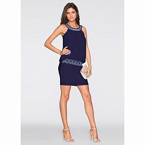 Fiesta JIALELE Mujer Mujer Vestir Para Un De Blue Fiesta Vestido Vestidos Arr0p5