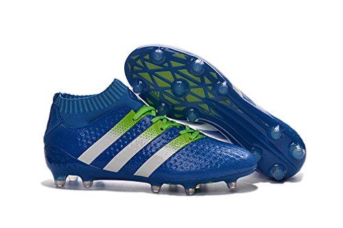 Herren Performance Ace 16,1Primeknit Obra FG/AG High Top Blau Fußball Schuhe Fußball Stiefel