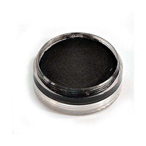 Wolfe F/X Essential Colors Face Paint - Black (45 gm)]()