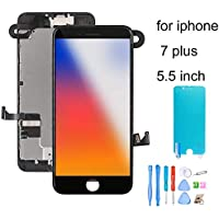 recyco Screen Replacement for iPhone 7 Plus with Front...