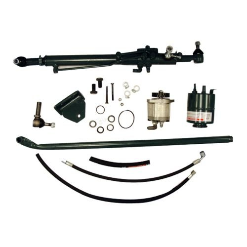 - Complete Tractor 1101-2002 Power Steering Conversion Kit, Gray
