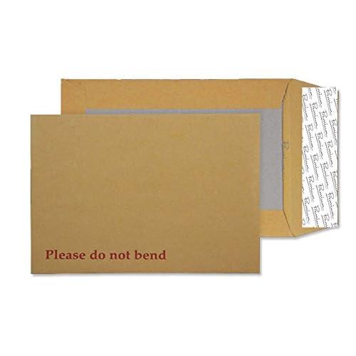 Premium Avant Garde C4 229 x 324 mm Extra fort avec Patte autocollante et dos cartonné Papier kraft Crème poche-Lot de 100