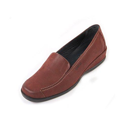 Suave Zapatos mujer Vino cordones de para SwpqPC8nS