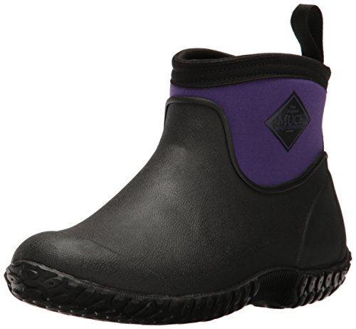 Muck Boot Women's Muckster 2 Ankle Snow Boot, Black/Purple, 8 US/8 M US by Muck Boot