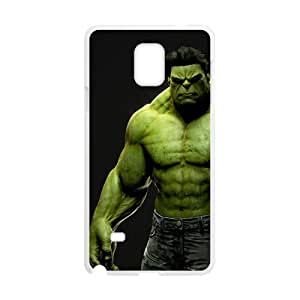 Happy The Hulk green strong man Cell Phone Case for Samsung Galaxy Note4