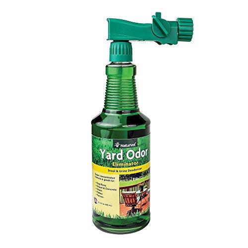 NaturVet Yard Odor Eliminator Concentrate Hose Spray, 31.6 Ounce