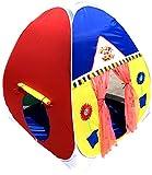 Homecute Kids Play Tent House - 110 x 110 x 120 Multi Color
