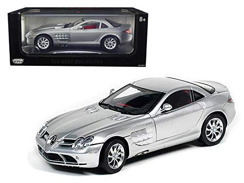 Motormax Mercedes Mclaren SLR Black 1/12 Diecast Model Car
