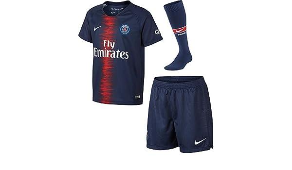 Amazon.com : NIKE 2018-2019 PSG Home Little Boys Mini Kit : Sports & Outdoors