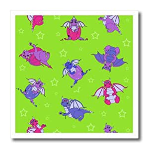ht_20338_2 Janna Salak Designs Dragons - Cute Dragon Soup Print - Iron on Heat Transfers - 6x6 Iron on Heat Transfer for White Material