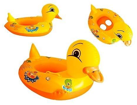 new style 21be4 4ee34 'Salvagente Con Supporto Swimtrainer, Forma Di papera paperella duckbab  Bambino Bambini Piscina Gonfiabile Zattera Sedia Galleggiante Della Sede ...