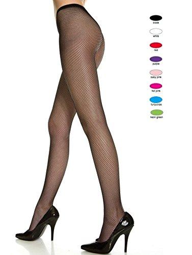 - Fishnet Pantyhose Hosiery - Queen - Dress Size 14-20