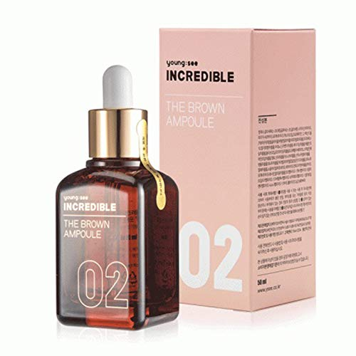 [young see] Incredible The Brown Ampoule (1.69 fl oz) - the famous brown bottle ampoule! for Valentines gift save up to 35% by Feb.16th!